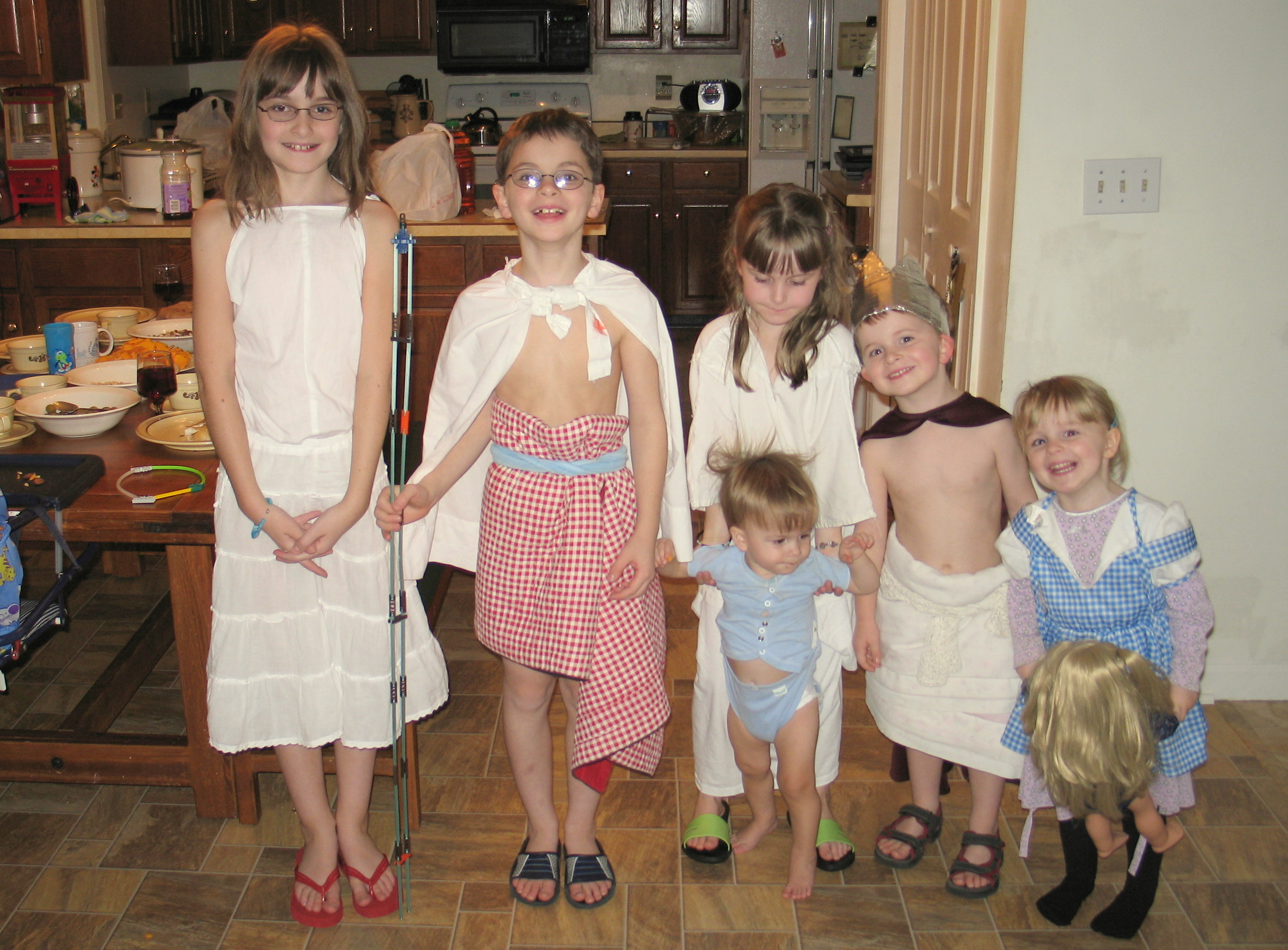 An Egyptian Dinner, a Kid-Made Seesaw, and Music n' Laughter | My